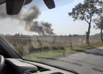 Ogromny pożar w Chwaliszewie