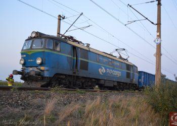 Potrącony przez pociąg