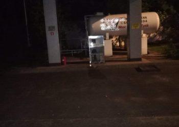 Nocny wyciek gazu