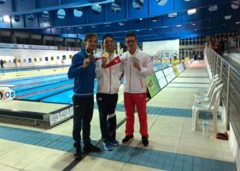 Trzy medale Konrada!