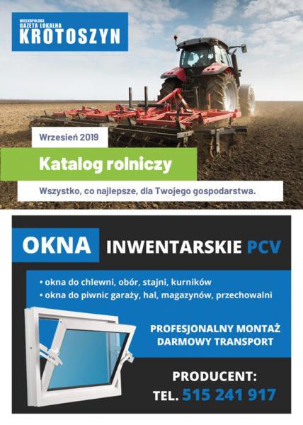 Katalog rolniczy WRZESIEŃ 2019