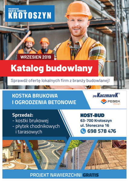 Katalog budowlany WRZESIEŃ 2019