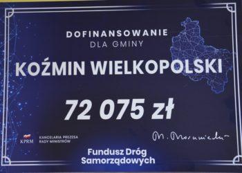Dofinansowanie na drogę w Lipowcu