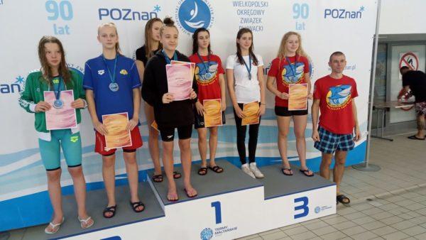 Sukcesy pływaków Krotosza