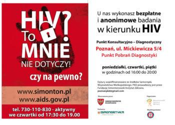 HIV może dotyczyć każdego