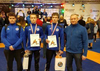 Trzy medale na mistrzostwach Polski