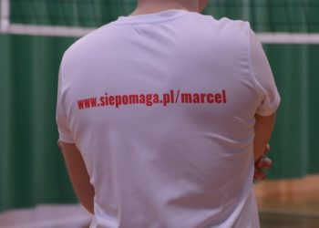 Siatkarze zagrali dla Marcelka