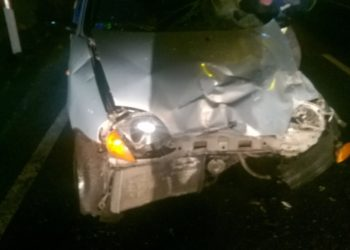 Groźny wypadek na drodze krajowej