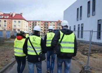Z wizytą na placu budowy