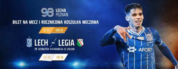 Wygraj bilet na mecz Lecha z Legią!