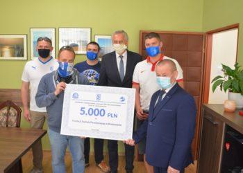 5000 zł od kibiców dla szpitala!