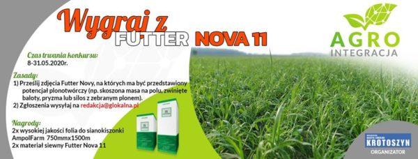 Wygraj z Futter Nova 11!