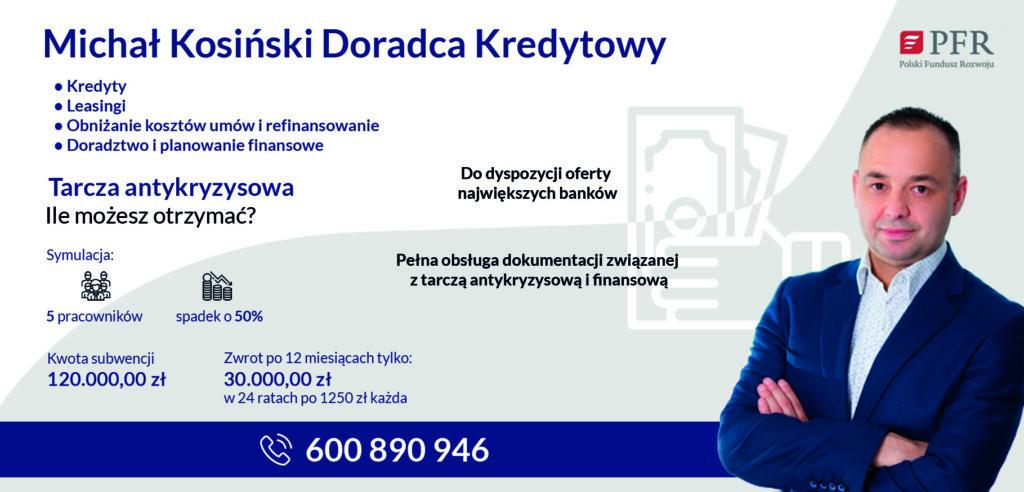 Michał Kosiński Doradca Kredytowy