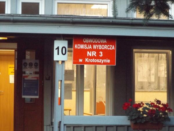 Jak głosowano w powiecie krotoszyńskim?