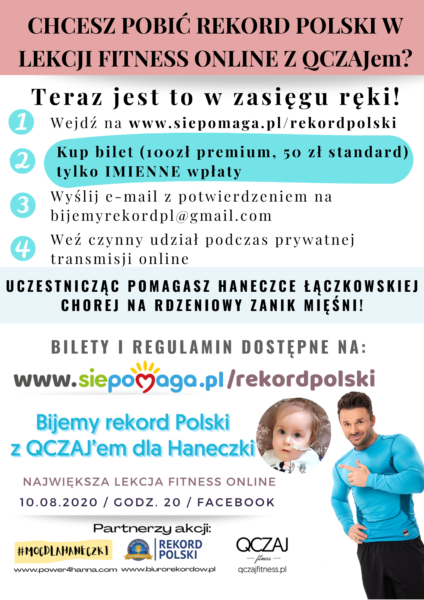 Bicie rekordu Polski dla Haneczki!