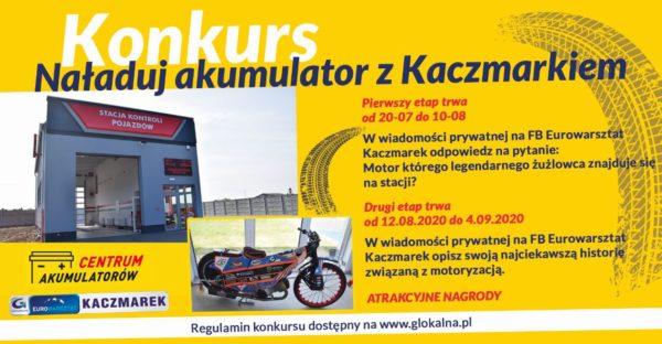 Naładuj akumulator z Kaczmarkiem!