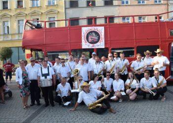 Orkiestrobus w trasie po gminie