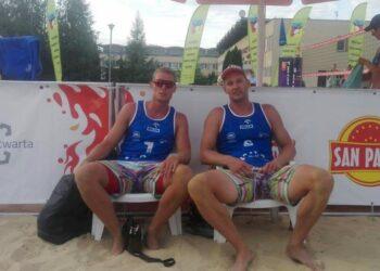 Sebastian Kaczmarek w Plaża Open