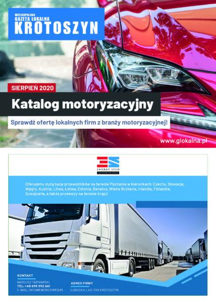 Katalog motoryzacyjny sierpień 2020