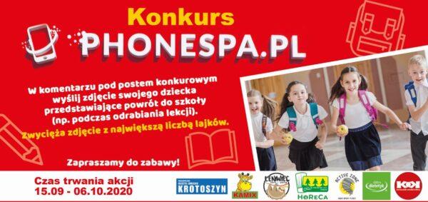 Konkurs z PhoneSpa