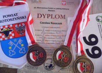 Roszczak trzy razy na podium!