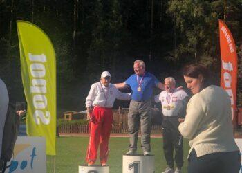 Roszczak z czterema medalami