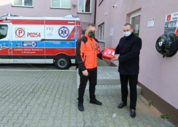 Defibrylator AED w Kobylinie