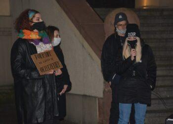 Protest w kameralnym gronie