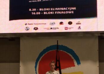Julia Bielawna na mistrzostwach Polski