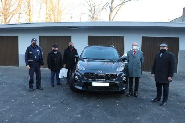 Nowy radiowóz dla policjantów