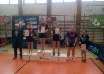 Klaudia na podium