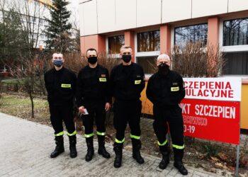 Strażacy się szczepią