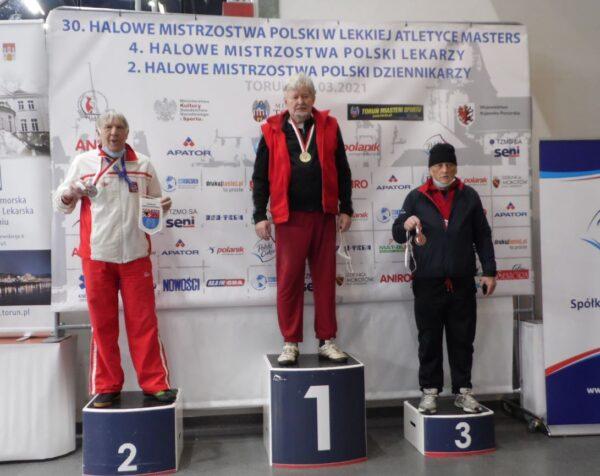 Dwa medale Roszczaka na MP