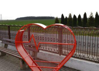 Czerwone serce w Kuklinowie