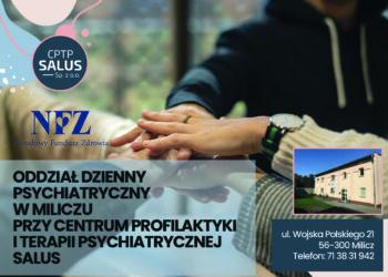 Oddział Dzienny Psychiatryczny w Miliczu zaprasza!