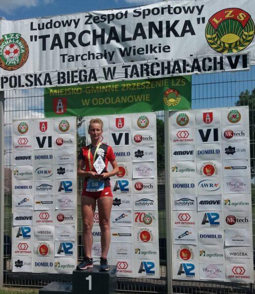 Anita Jadczak tuż za podium