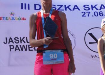 Anita Jadczak dwa razy na podium
