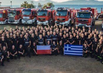 Kolejni strażacy udali się do Grecji