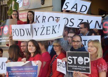 Czerwony protest