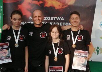 Przywieźli trzy medale z Warszawy