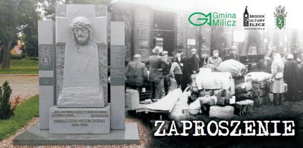Uroczyste odsłonięcie pomnika Sybiraka