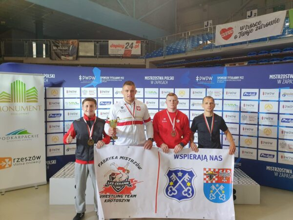 Cztery medale na mistrzostwach Polski